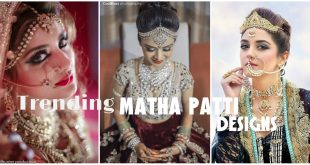 Gorgeous Matha Patti Designs Trend for Bridal Jewelry