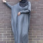 Gray Abaya Designs 2017