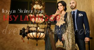 HSY Lawn 2017 Latest Summer Dresses Collection by HSY for Girls