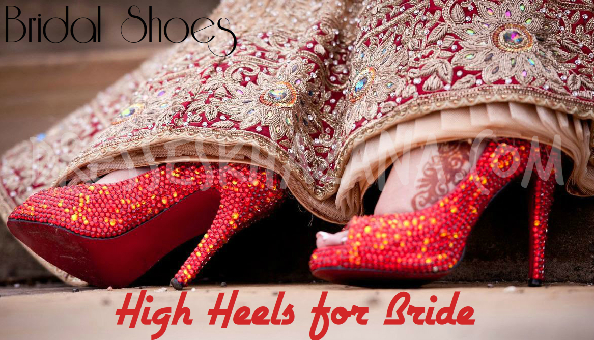 Trending Bridal Shoes 2017 - Wedding High Heels Shoes for Bridal's