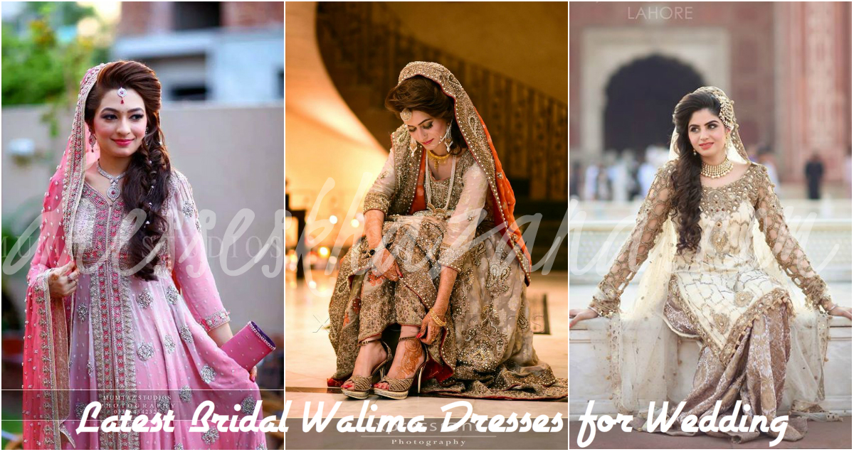 Pakisatni Bridal Walima Dresses 2017 Designs For Wedding
