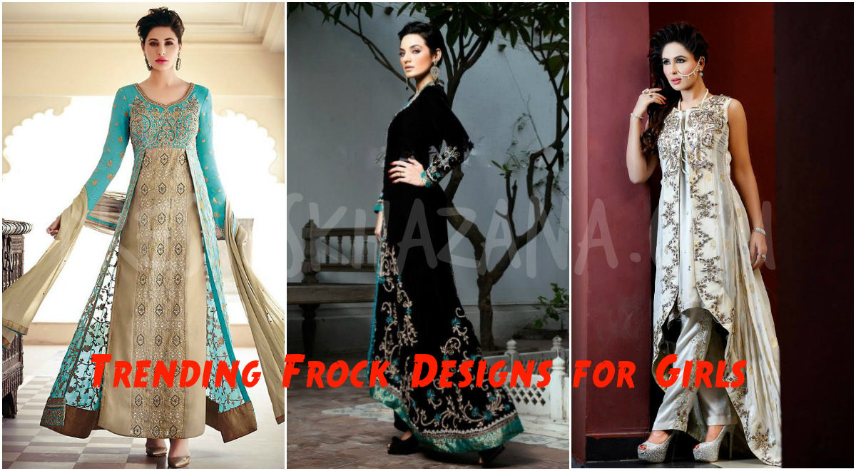 Frock Designs Latest Trending Frock Designs For Girls