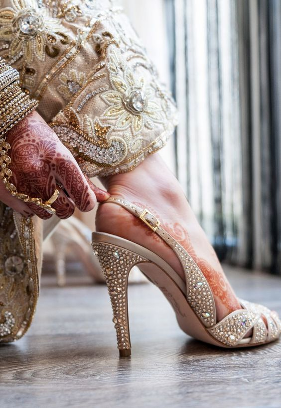 Trending Bridal Shoes 2017 - Wedding High Heels Shoes for