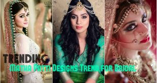 Matha Patti Designs Trend for Bridal Jewelry
