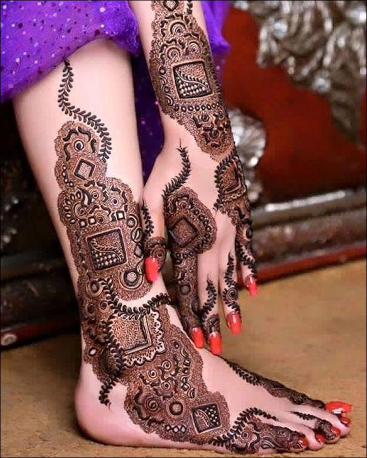 Modern Moroccan Styles mehndi designs