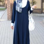Navy Blue Abaya Designs