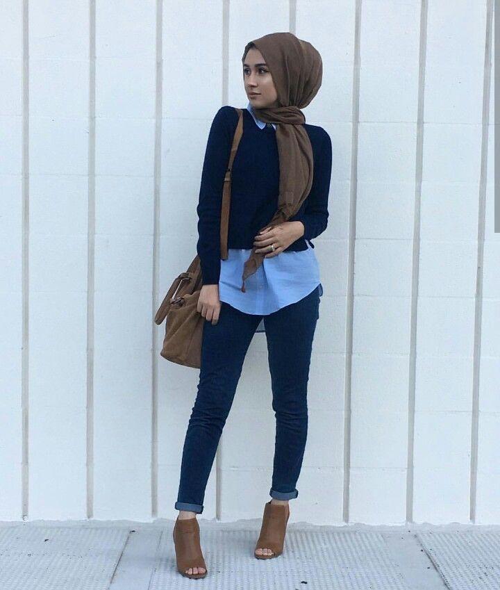 Style fashion 2017 girl Fashion style hijab rok