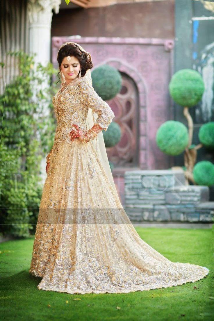 Latest bridal dresses 2018 designs by pakistani famous for Pakistani designer wedding dresses
