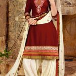 Punjabi Patiala Salwar with Short Kameez