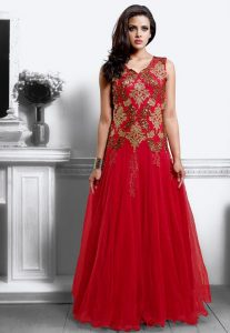 Red Gown Dresses for Parties