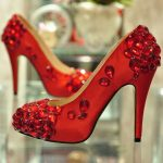 Red High Heels for bridal