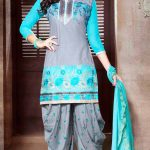 Short Kameez with Patiala Salwar