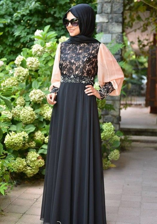 New Style of Abaya Designs 2018 & Gown Fashion for Women