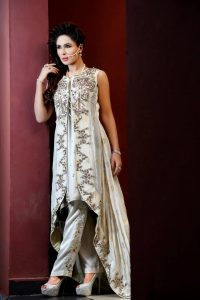 Tail gown Styles frock Designs