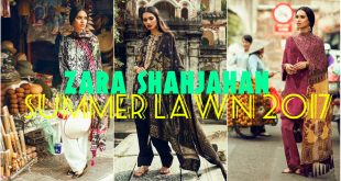Zara Shahjahan Lawn 2017 - Latest Summer Lawn Dresses for Girls
