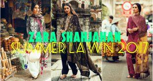 Zara Shahjahan Lawn 2017 - Latest Summer Lawn Dresses for Girls