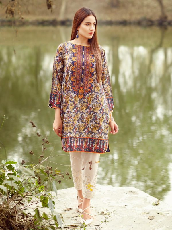 c04380bb970 Edenrobe Lawn 2018 Collection - Summer Wear of Edenrobe for Girls