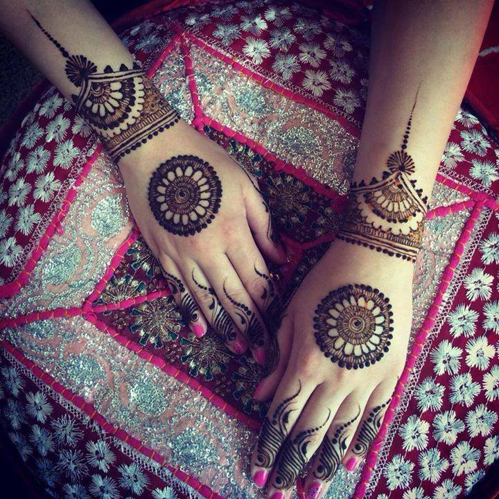 wheel of life mehndi designs