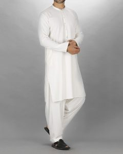 Almirah Off White Polyester