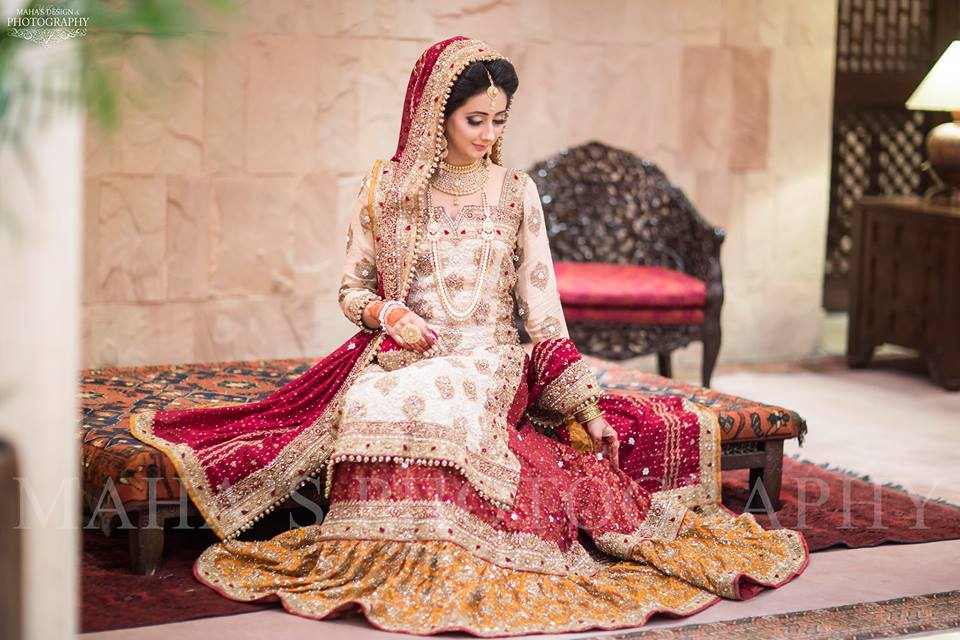 Latest Pakistani Bridal Wear Designs