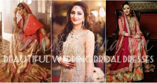 Latest Bridal Dresses 2017 | Pakistani Wedding Lehengas for Brides