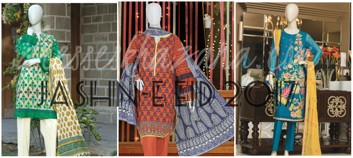 Junaid Jamshed EID Collection 2017 | Mera Andaz & Jashn-e Eid Outfits