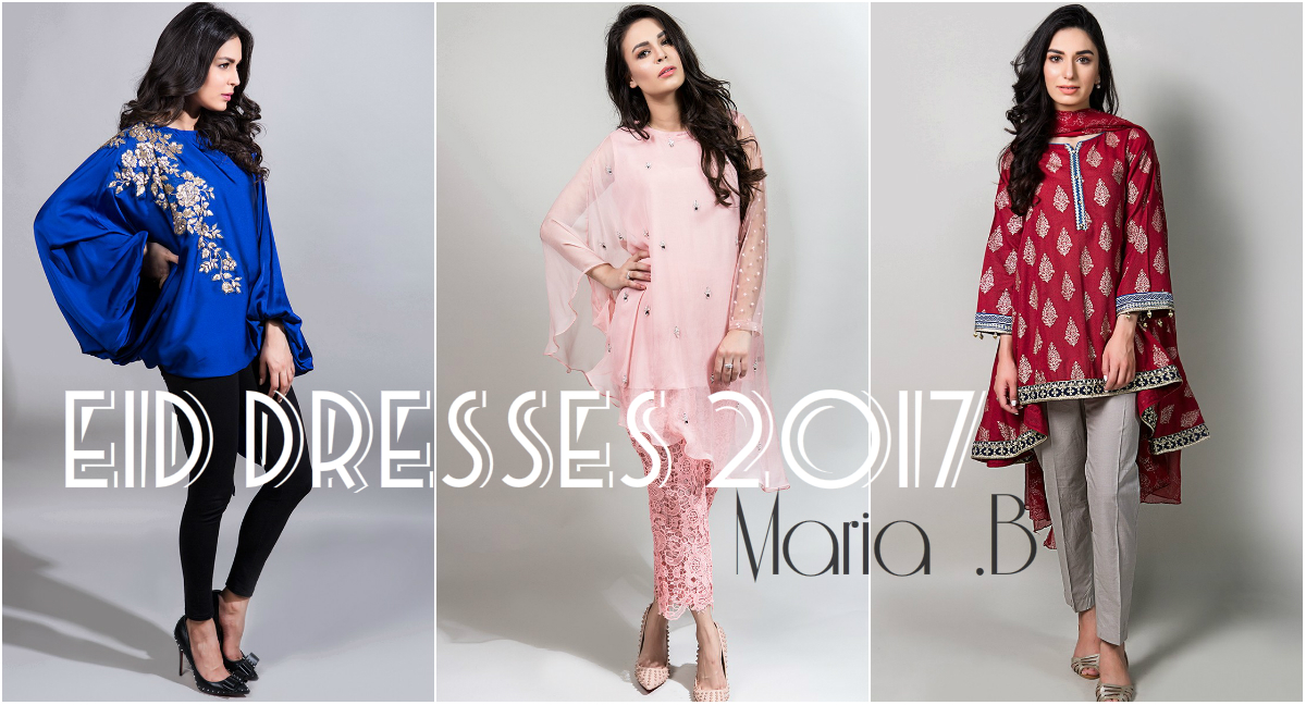 Maria B Eid Collection 2017 | Luxury Lawn & Fancy Chiffon Eid Dresses
