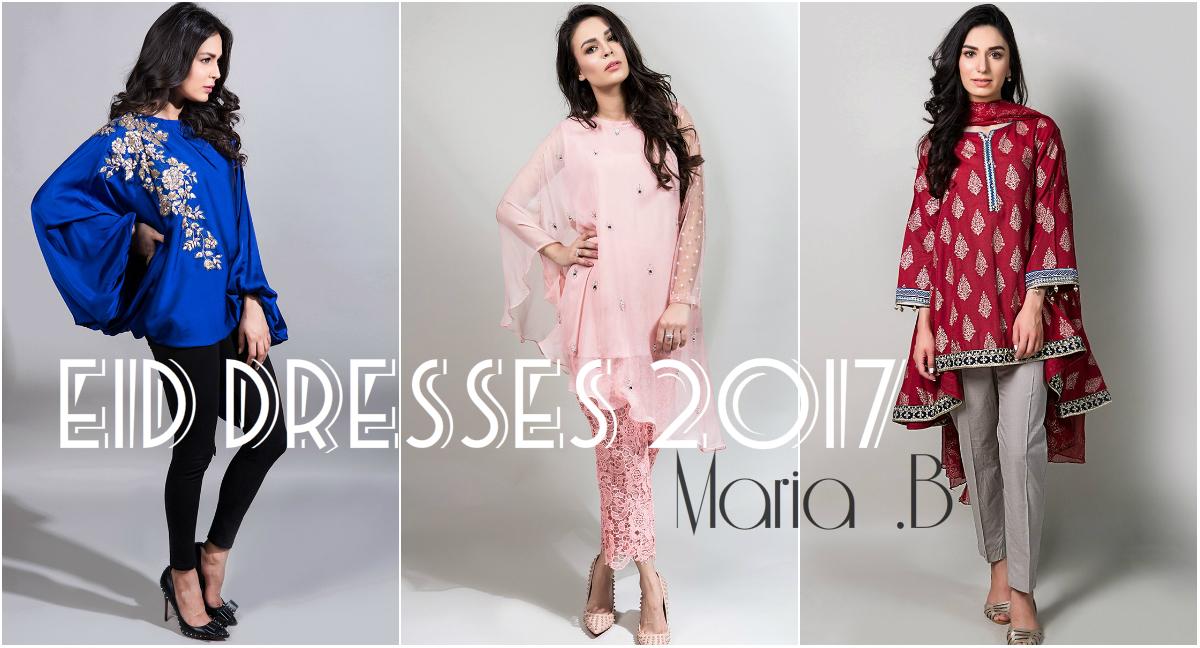 Maria B Eid Collection 2017 | Luxury Lawn & Fancy Chiffon Eid Dresses