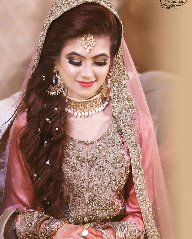 Wedding Hairstyle Pakistani: Latest Pakistani Bridal Makeup 2018 Perfect Look & Trend