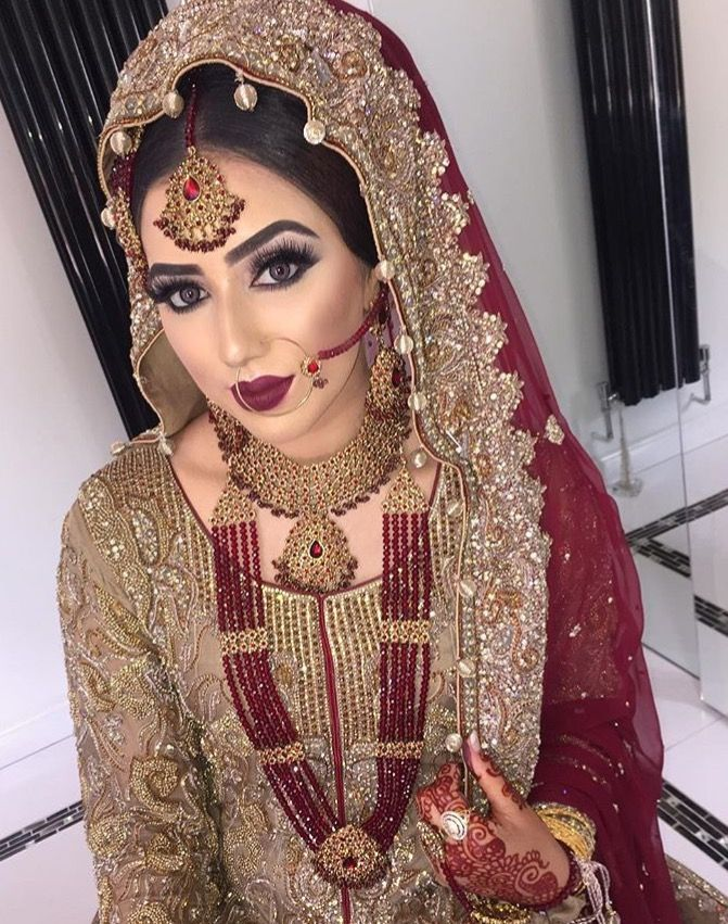 Latest Pakistani Bridal Makeup 2018 Perfect Look Amp Trend