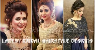 Wedding Hairstyles for Brides 2017 - Latest Bridal Hairstyles 2017