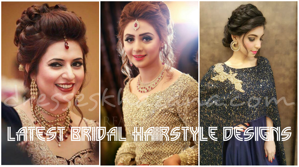 wedding hairstyles for brides 2018 | latest bridal hairstyles outlook