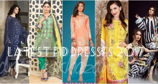 Latest Eid Dresses 2017 for Girls
