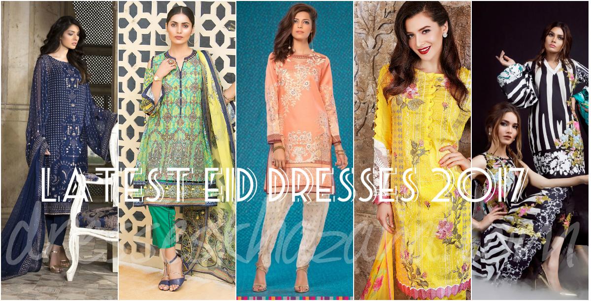 Latest Eid Dresses 2017 for Girls