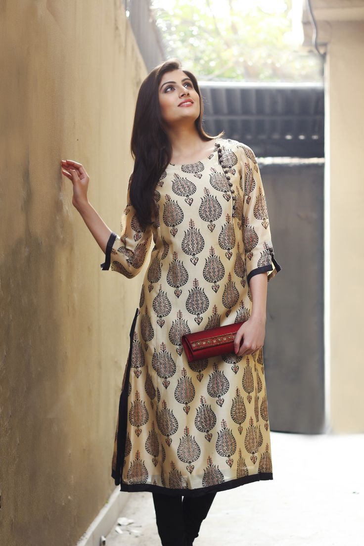 Latest Fashion Of Kurti's Dresses For