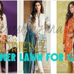 Orient Textiles Lawn 2017 - Luxury Summer Dresses Collection for Girls