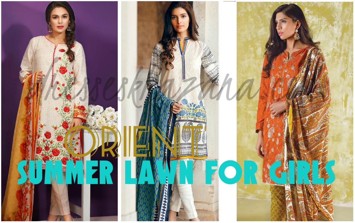 fdbcb7ca98c3 Orient Textiles Lawn 2018 - Premium Summer Dresses Collection for Girls