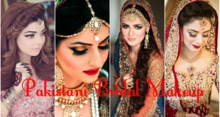 Pakistani Bridal Makeup 2017 Ideas