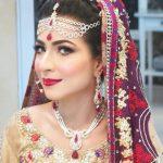 Pakistani Bride with Makeup