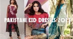 Pakistani EID Dresses 2017 for Girls