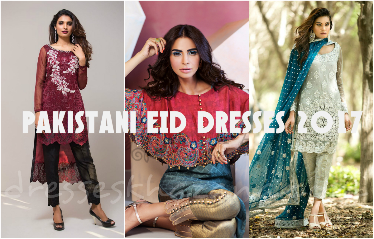 cbffdac81 Pakistani Eid Dresses 2018 for Girls - Best Festive Collection by ...