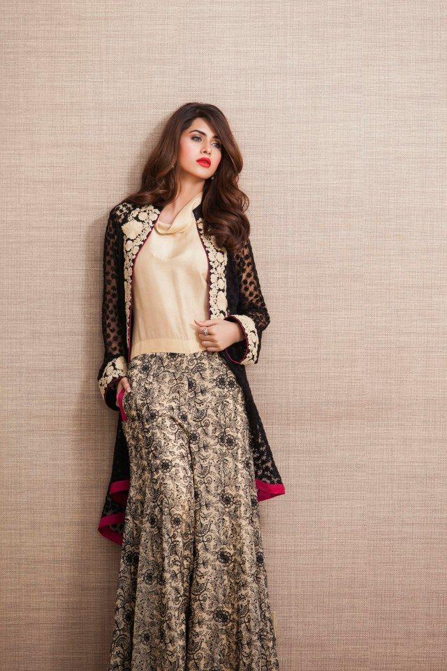 Pakistani Eid Dresses 2017 SKirt