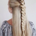 Pony Tail Hairstyle for Girl