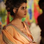 Sajal Ali in Buns Hairstyle