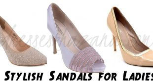 Sandals for Ladies 2017 - Stylish Ladies Footwear Designs