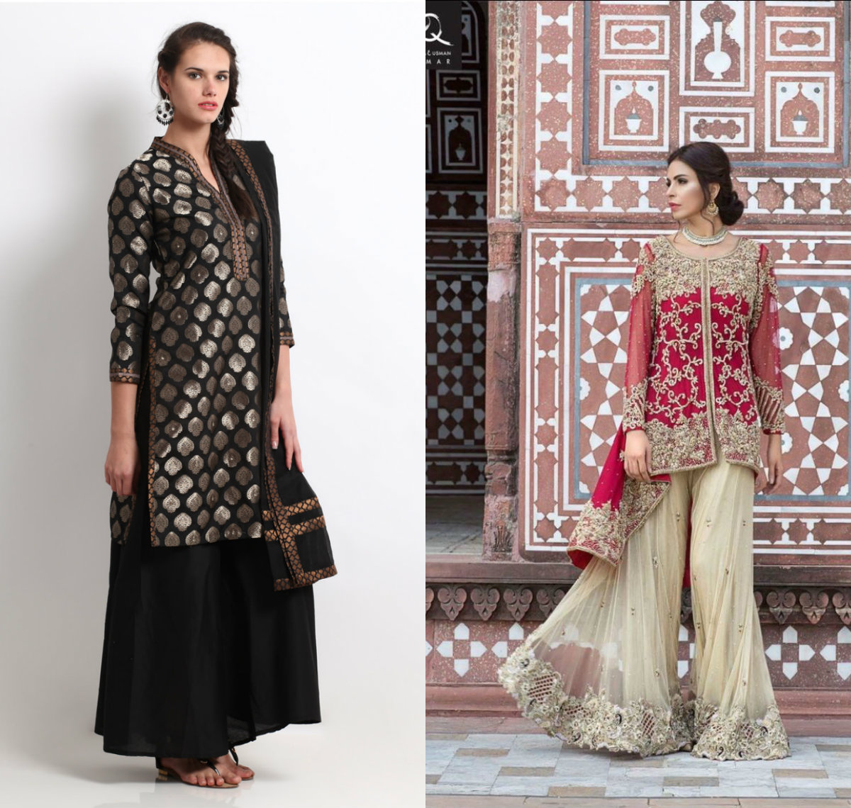 Shirt with Palazzo and Sharara