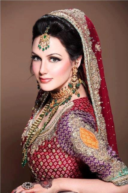 Simple Bridal Makeup Images : Latest Pakistani Bridal Makeup 2017 Perfect Look and Trend ...