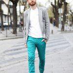 Sky blue color jeans