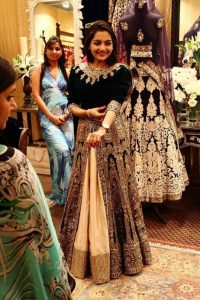 Velvet Bridal Dress