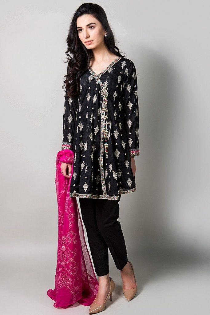 black dress for eid 2017